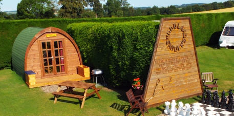 Glamping at Woodland Gardens